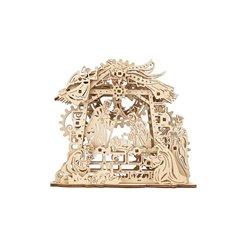 ugears Dampflokomotive mit Schlepptender