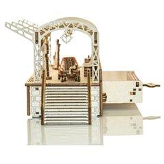 Lokomotive - 3D Holz Puzzle