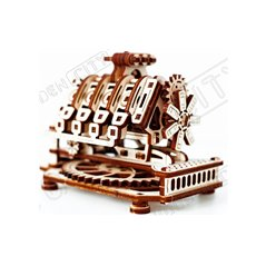 Steampunk Music Box Seymour mit Musik