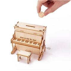 Fabeltier Unicorn - 3D Holz Puzzle