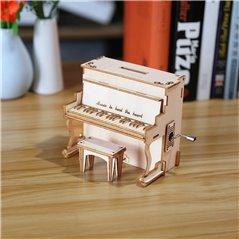 Flugzeug Modell Fokker-DR1 - 3D Holz Puzzle
