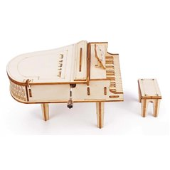 Flugzeug Modell Havilland Tiger Moth - 3D Holz Puzzle