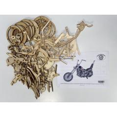 Panzer T-34 - 3D Holz Puzzle