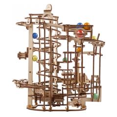 Dampf Lokomotive - 3D Holz...