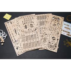 Drache I - 3D Holz Puzzle