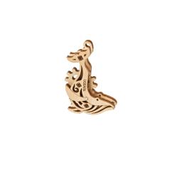 Biting T-Rex - 3D Holz Puzzle