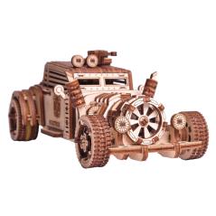 Angel Fisch II - 3D Holz...