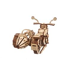 Motorrad II - 3D Holz Puzzle