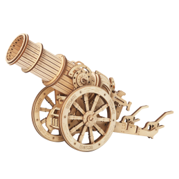 Medieval Wheeled Cannon -...